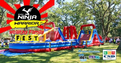Kids Ninja Warrior and Healthy Family Fest