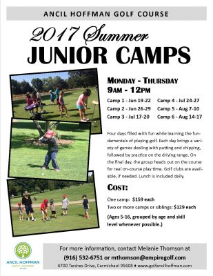Summer Junior Golf Camp 3