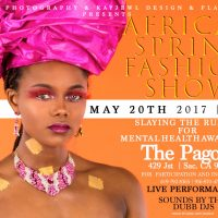 African Spring Fashion Show and After Party