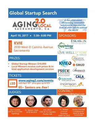 Aging2.0 Sacramento Global Startup Pitch Competition