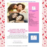 C.L.A.S.S.Y. Inc: Mother, Daughter Brunch