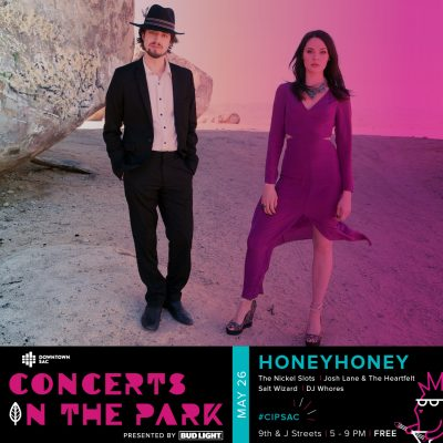 Concerts in the Park: HoneyHoney