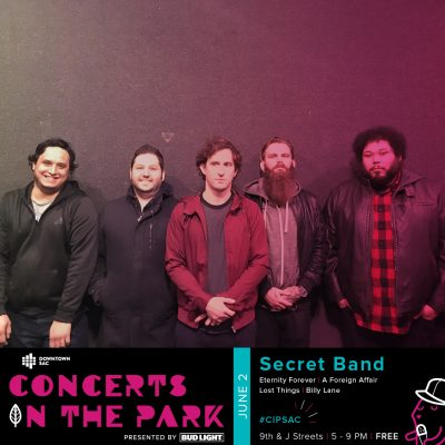 Concerts in the Park: Secret Band