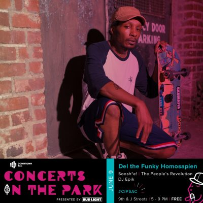 Concerts in the Park: Del the Funky Homosapien