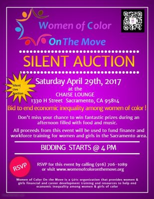 Women of Color On The Move Silent Auction