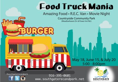 Southgate Recreation and Park District's Food Truck Mania