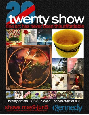 Kennedy Gallery 20/20 Preview Thursday