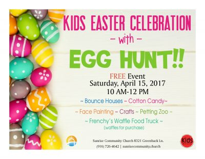 Kids Easter Celebration with Egg Hunt