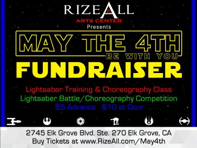 RizeAllDance May the 4th Lightsaber Duel (Big Day of Giving)