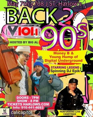 Money B and Young Hump of Digital Underground with Candyman