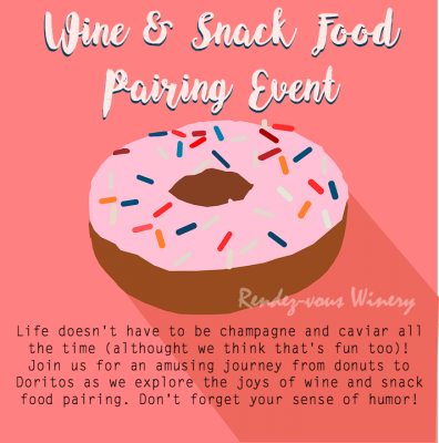 Wine and Snack Food Pairing