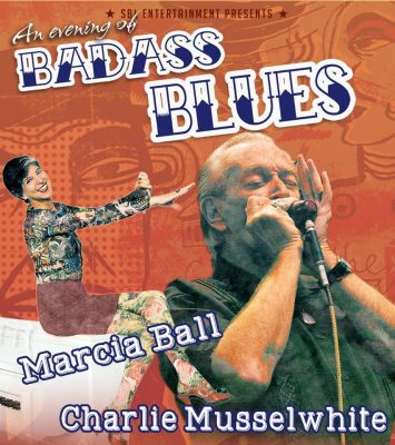 Bad Ass Blues: Marcia Ball and Charlie Musselwhite