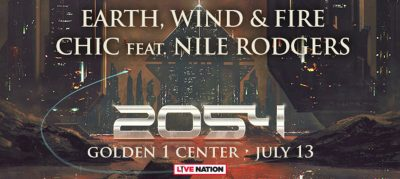 2054 The Tour: Earth, Wind and Fire and Chic featuring Nile Rodgers