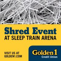 Golden 1 Credit Union Shred Event