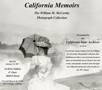 California Memoirs: The William M. McCarthy Photograph Collection