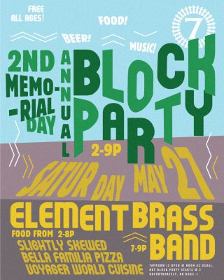 Track 7 Brewing Co 2nd Annual Memorial Day Block Party