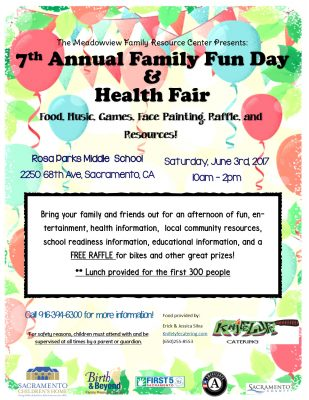 Free Family Fun Day and Health Fair