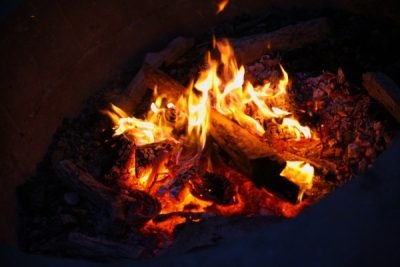 Campfires at Maidu Museum (May)