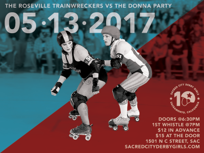 Donna Party vs. Roseville TrainWreckers