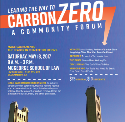 Leading the Way to Carbon Zero: A Community Forum