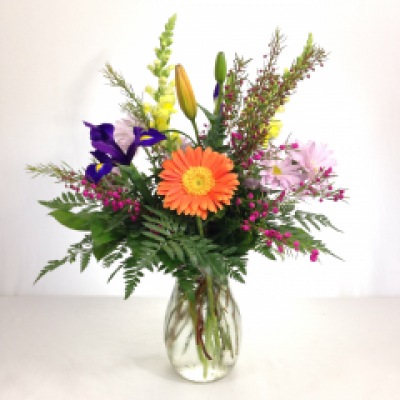 Do-It-Yourself Mixed Spring Bouquet