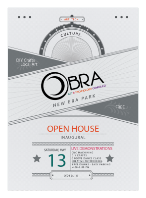 Obra: Art and Tech Compound Open House