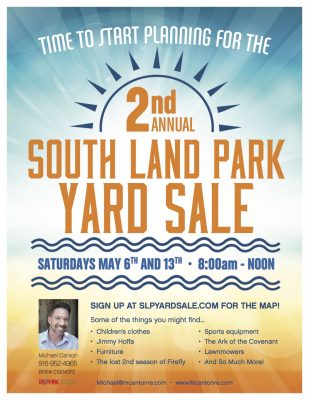 South Land Park Yard Sales