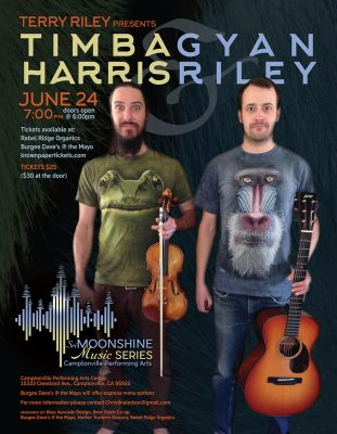 Terry Riley Presents: Timba Harris and Gyan Riley
