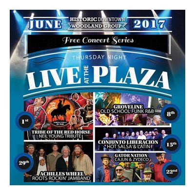 Historic Downtown Woodland's Thursday Night Live at the Plaza