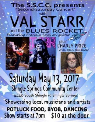 Val Starr and the Blues Rocket Mother's Day Concert