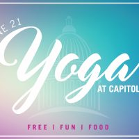 Yoga at the Capitol: Celebrating International Yoga Day