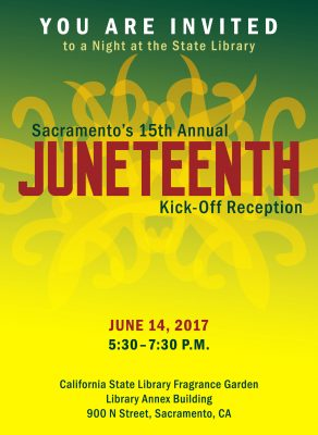 A Night at the State Library's Juneteenth Kick-off Reception