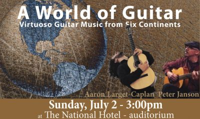 A World of Guitar: Virtuoso Guitar Music from Six Continents