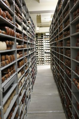 Behind-the-Scenes Tour of the CA State Archives