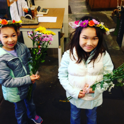 DIY Adult and Child Flower Design Class