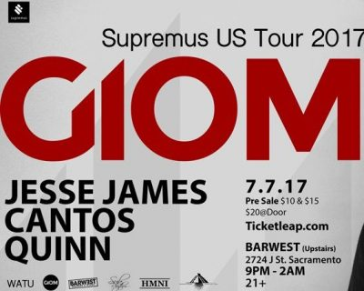Giom Supremus US Tour 2017