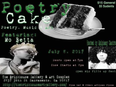 Poetry Cake featuring Mo Betta