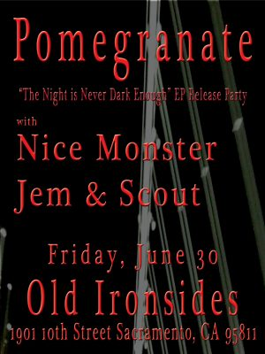 Pomegranate EP Release Party: Old Ironsides