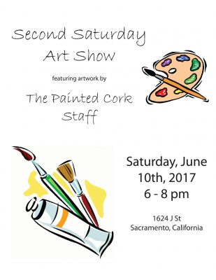 The Painted Cork Second Saturday Art Show