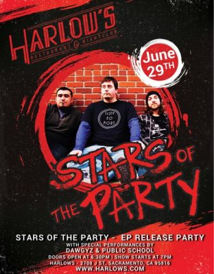 Stars of the Party EP Release Party