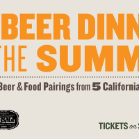 California Craft Beer Dinner