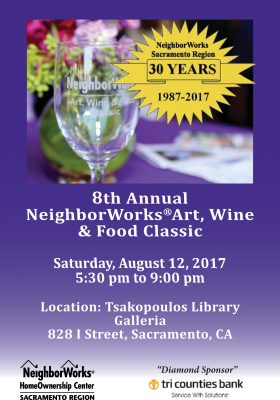 8th Annual NeighborWorks Art, Wine and Food Classic