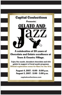 Gelato and Jazz: Capital Confections 20th Anniversary Weekend