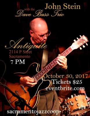 John Stein with the Dave Bass Trio
