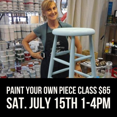 Paint Your Own Piece with Chalk-Style Paint