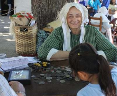 Hands on History: Commerce at the Fort