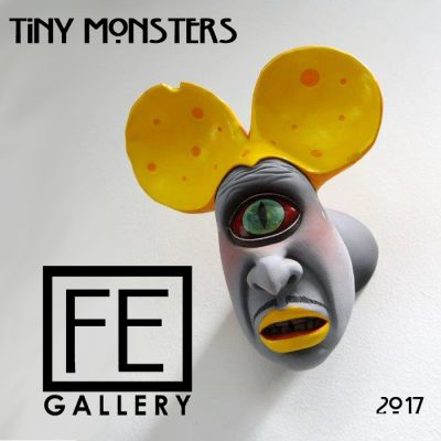 Tiny Monsters Exhibit