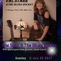 Val Starr and the Blues Rocket CD Release Party