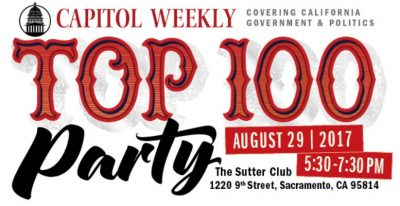 Capitol Weekly Top 100 Party