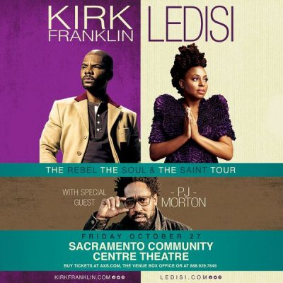 Kirk Franklin and Ledisi: The Rebel, The Soul and The Saint Tour (Cancelled)